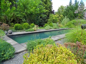Jardin de la Poterie Hillen, France: contemporary stillness