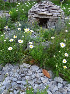Shepherd's house and karst planting: 'Pepa's Story', Dutovlje, Slovenia May 2014