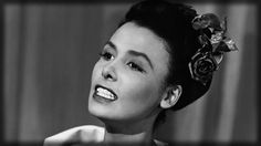 The incomparable Lena Horne, wearing a rose actually photo credit: www.pinterest.com