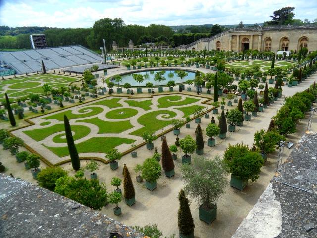 Versailles Orangery Parterre 616