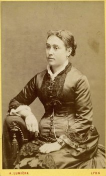 Marie-Louise Trievoz, before her marriage to Joseph Schwartz, Lyon photo credit: www.helpmefind.com
