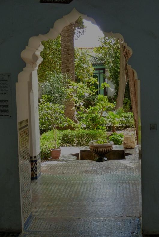 Meknes musuem garden 2