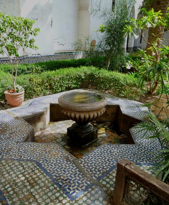 Meknes musuem garden