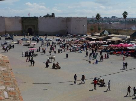 Meknes walled medina