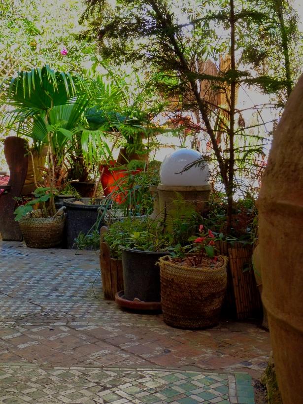Ruined Garden pots