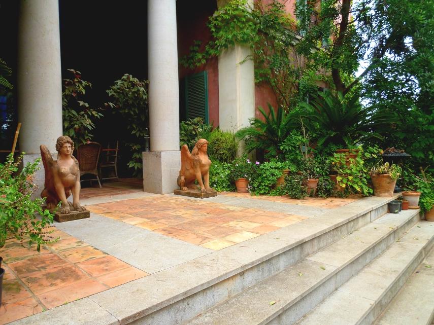 Alicante Albarda house steps 1017